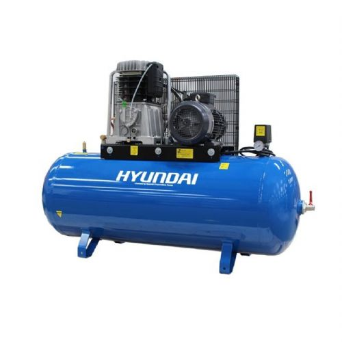 Hyundai HY75270-3 5.5kW Belt Drive 'Pro Series' Electric Air Compressor 270L 415V~50Hz